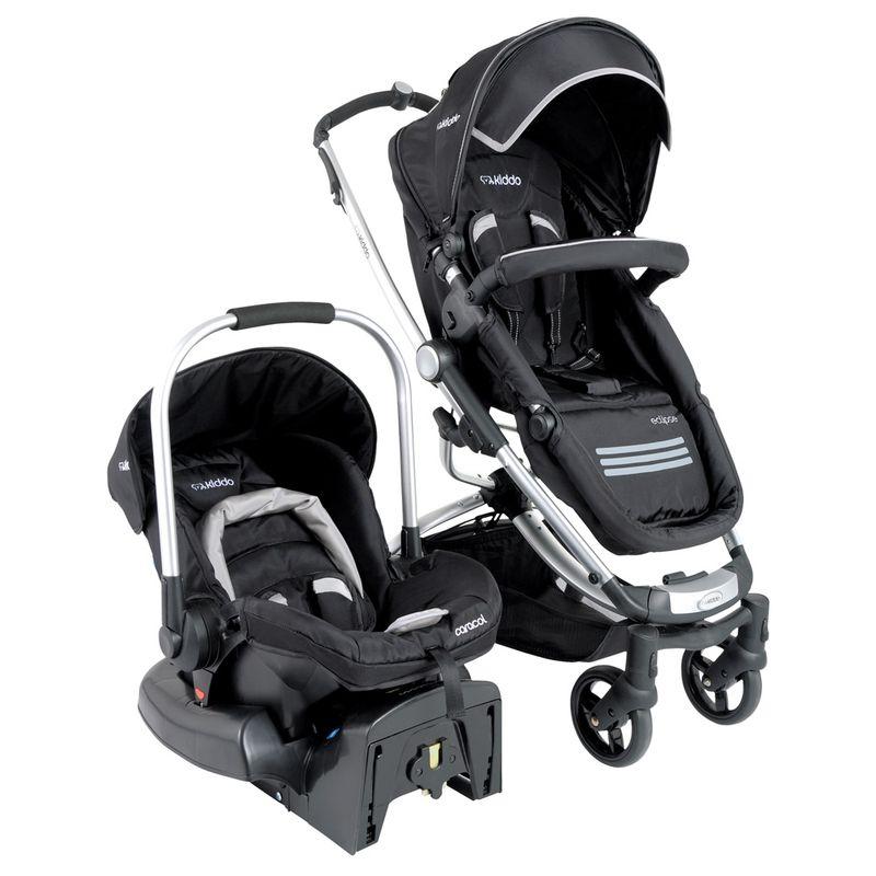 Melhor carrinho de bebe e cadeirinha para o Renegade 5218-Carrinho-Travel-System-Eclipse---Preto---Kiddo--1-