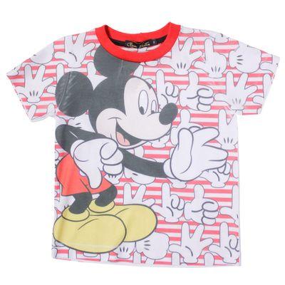 500512-Camiseta-Mickey---Poliester-Branco-e-Vermelho---Disney