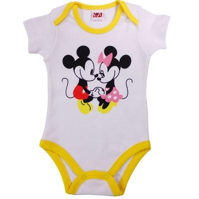 21441-Body-Mickey---Suedine-Branco---Disney