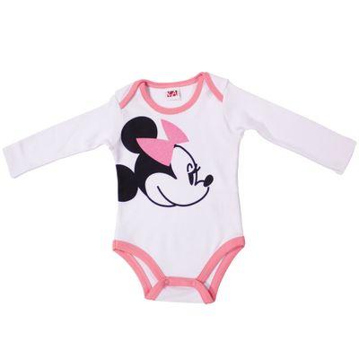 21450-Body-Minnie---Suedine-Branco---Disney