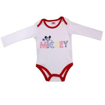 21483-Body-Mickey---Suedine-Branco---Disney
