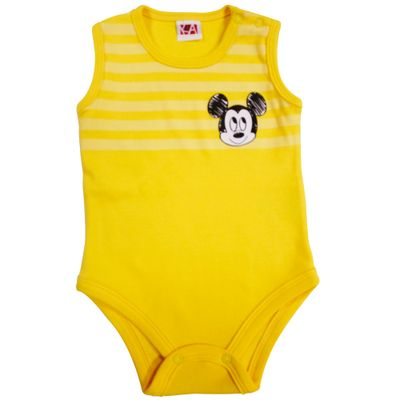 21488-Body-Mickey---Suedine-Amarelo---Disney