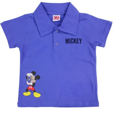 21490-Camiseta-Mickey---Meia-Malha-Azul-Royal---Disney