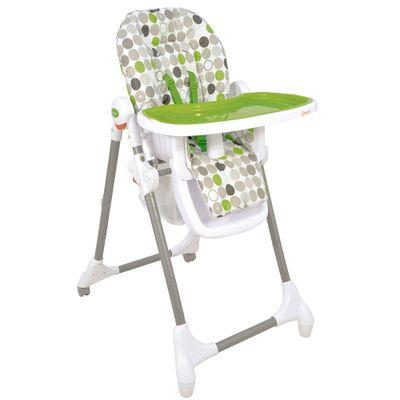 Cadeira de Alimentação Alta Snack - Verde - Kiddo