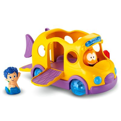 Playset-Bubble-Guppies---Veiculos-Deluxe---Onibus-Escolar---Fisher-Price