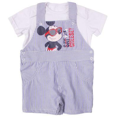 53806-Conjunto-Mickey---Meia-Malha---Branco-e-Azul---Disney-Conjunto