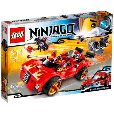 70727 - LEGO Ninjago - Carregador Ninja X-1