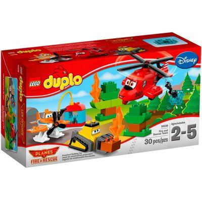 10538---LEGO---DUPLO---Equipe-de-Resgate-e-Combate-ao-Fogo-Embalagem