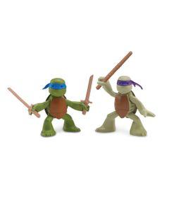 Boneco-Tartarugas-Ninja---Pack-Leonardo-e-Donatelo---Multikids