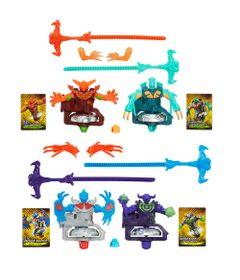 100092314-100092313-Kit-Piao-BeyBlade-BeyWarriors-Shogun-Stell---Ifrit-Salamander-e-Guardian-Leviathan-e-Berserker-Behemoth-e-Archer-Griffin---Hasbro