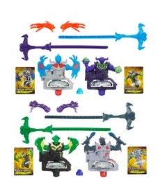 100092315-100092313-Kit-Piao-BeyBlade-BeyWarriors-Shogun-Stell---Gladiator-Bahamoote-e-Pirate-Orochi-e-Berserker-Behemoth-e-Archer-Griffin---Hasbro