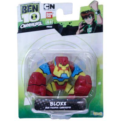 Mini Boneco Ben 10 - Bloxx - Sunny