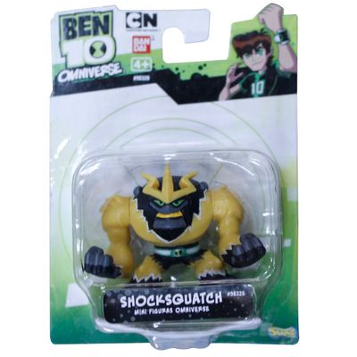 Mini Boneco Ben 10 - Shocksquatch - Sunny