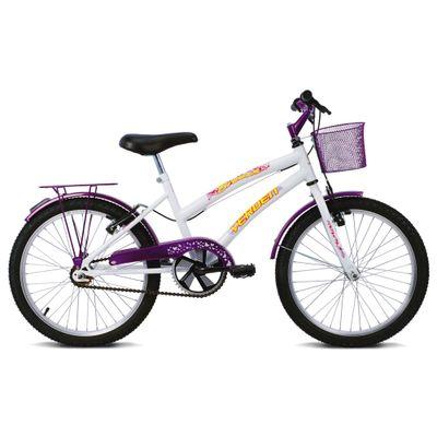 Bicicleta Breeze - Aro 20 - Branco e Violeta - Verden Bikes