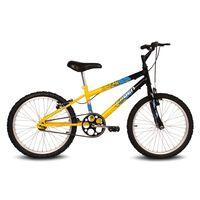Bicicleta-Ocean---Aro-20---Preto-e-Amarelo---Verden-Bikes