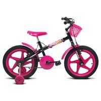 Bicicleta-Fofys---Aro-16---Preto-e-Pink---Verden-Bikes