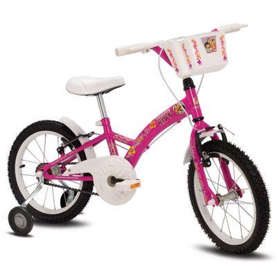Bicicleta Verden Kids - Aro 16 - Pink e Branco - Verden Bikes