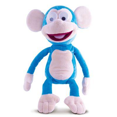 Macaco-de-Pelucia-Fufris---Azul---New-Toys