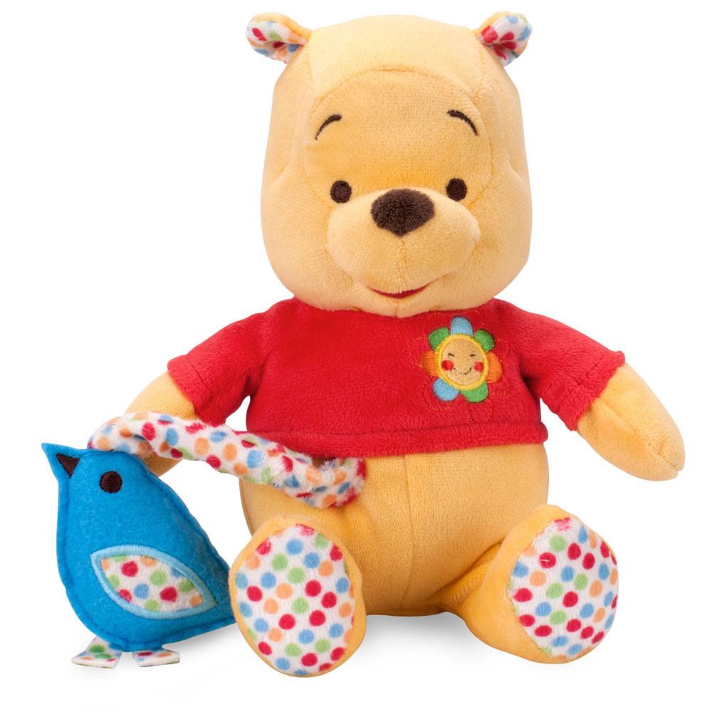 Pelúcia Ursinho Pooh Músical - Disney - Buba