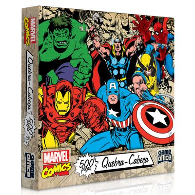 2018-Quebra-cabeca-Marvel-Classicos-500-Pecas-Toyster