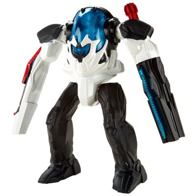 Boneco Articulado - Max Steel Battle Tech - Armadura Max Rocket Nova - Mattel