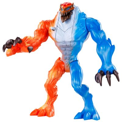 Boneco Articulado - Max Steel Transform Tech - Elementor Incêndio Aquático - Mattel