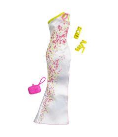 CFX92-Roupinha-para-Bonecas-Barbie-Vestido-de-Gala-Branco-Mattel