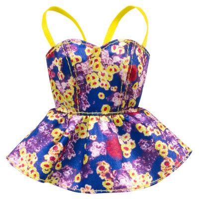 CFX73-Roupinha-para-Boneca-Barbie-Blusa-Estampada-Mattel
