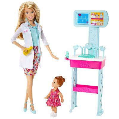 Boneca Barbie - Profissões - Doutora - Mattel