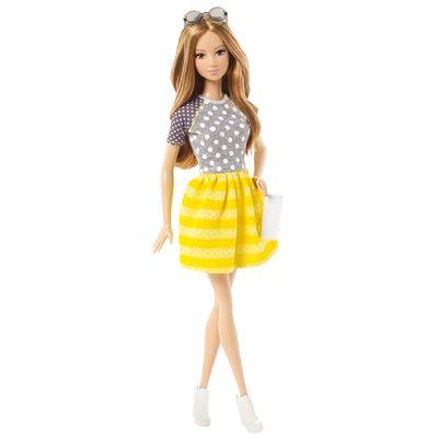 Boneca Barbie Fashionistas - Balada - Poás e Listras - Mattel