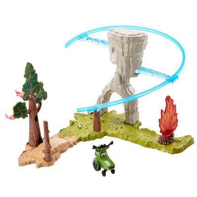 Conjunto Fire and Rescue - Wildfire Rescue - Disney Aviões - Mattel