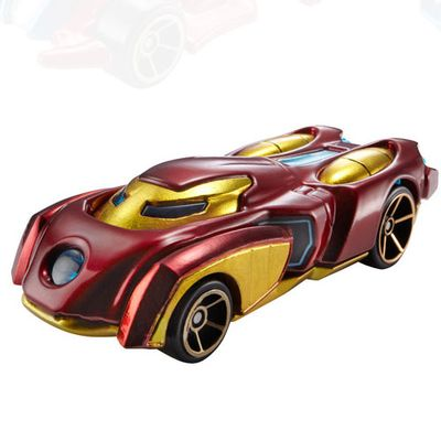 Carrinho-Hot-Wheels-Marvel---Iron-Man---Mattel