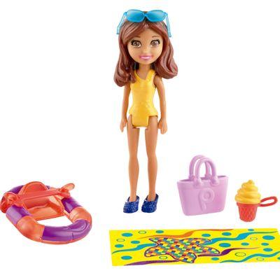 Bonecas Polly Pocket - Amigas no Parque Aquático - Boneca Shani - Mattel