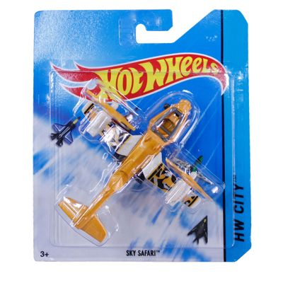 Avião Hot Wheels - Skybusters Sky Safari - Mattel