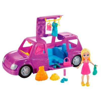 Boneca Polly Pocket - Super Limousine - Mattel