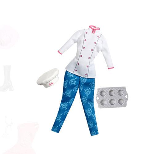 Uniforme Barbie Profissões - Cozinheira - Mattel