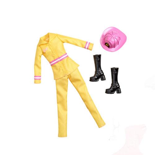 Uniforme Barbie Profissões - Bombeira - Mattel