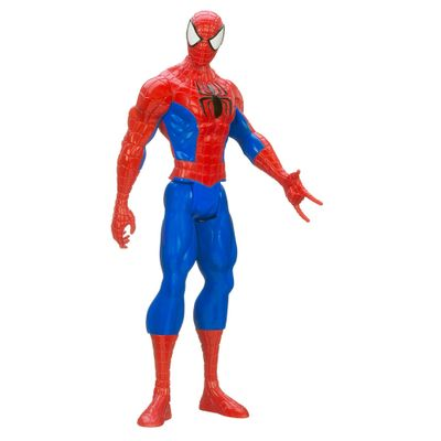 Boneco Ultimate Spider-Man Web-Warriors - Titan Hero Series - 30 cm - Spider-Man - Hasbro