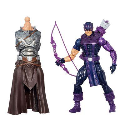 Boneco Marvel Legends Infinite Series - Build a Figure - Avengers - Hawkeye - Hasbro
