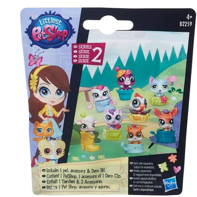 Mini Figura Littlest Pet Shop - Sortido - Série 2 - Hasbro
