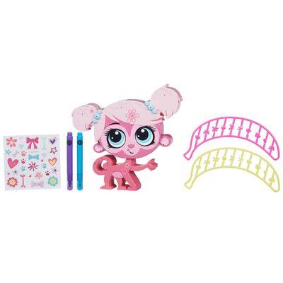 Boneca Littlest Pet Shop - Decore seu Pet - Minha Mark - Hasbro