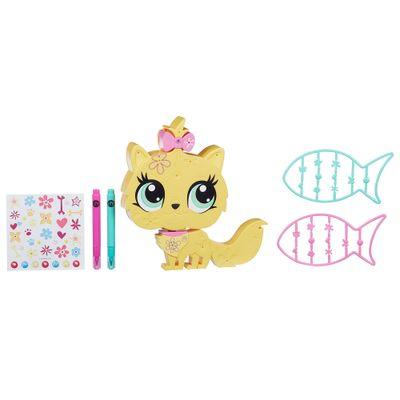 Boneca-Littlest-Pet-Shop---Decore-seu-Pet---Kitty---Hasbro-1