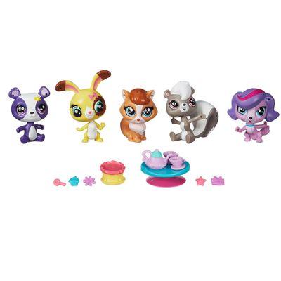 Conjunto Littlest Pet Shop - Amigos Temáticos - Aniversário Supresa - Hasbro