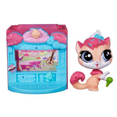 Playset Littlest Pet Shop - Cubo Temático - Sugar Sprinkles - Hasbro