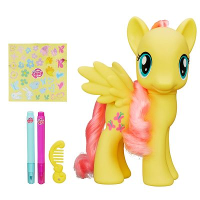 Figura Decorável My Little Pony - Cutie Mark Magic - Fluttershy - Hasbro