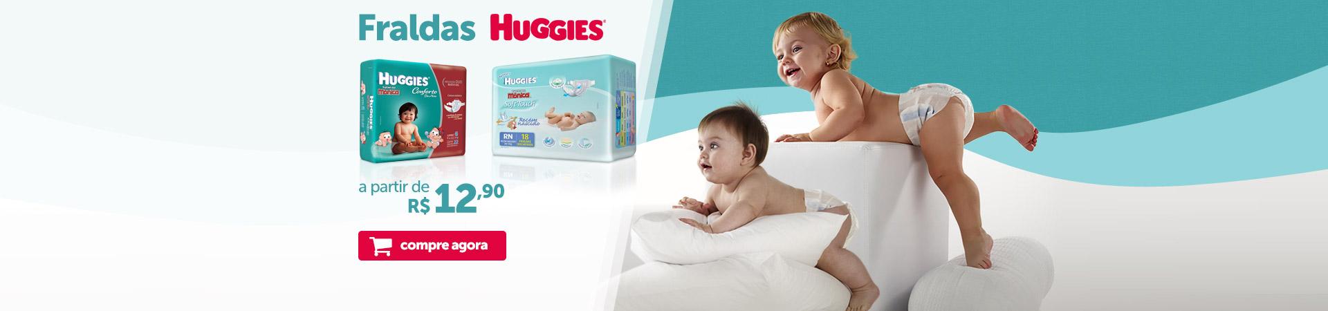 Fraldas Huggies