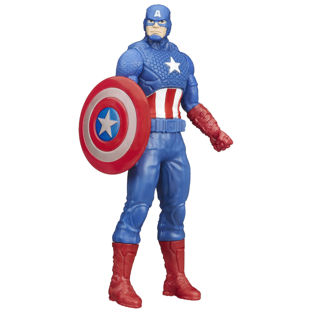 Boneco Marvel - Avengers - 15 cm - Capitão América - Hasbro
