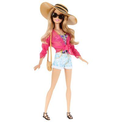 Boneca Barbie Style - Férias de Verão - Mattel