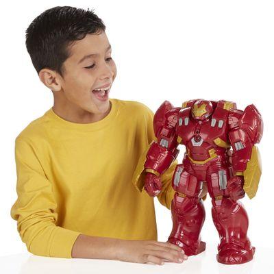 Boneco Avengers - Titan Hero Tech - A Era de Ultron - Hulk Buster Interativo - Hasbro