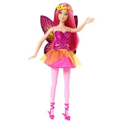 Boneca Barbie - Mix & Match - Fada Rosa - Mattel
